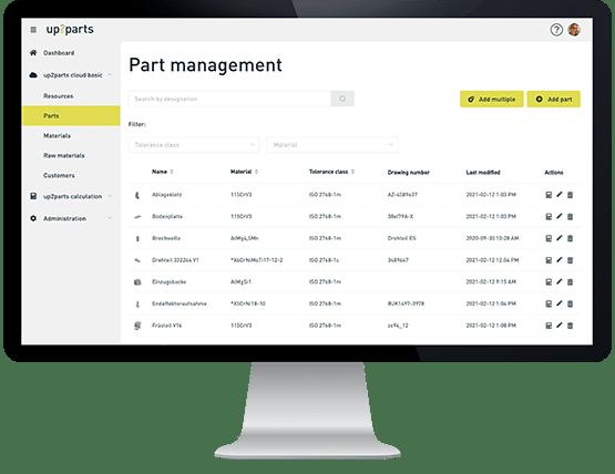 up2parts-master-data-management-parts-machines-materials